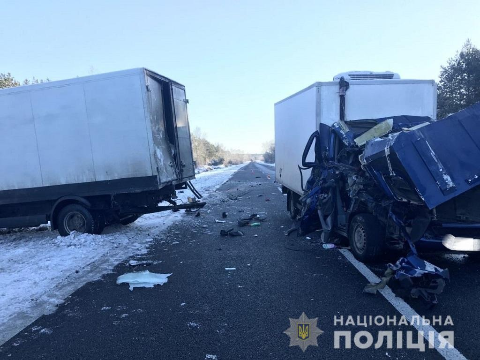 Водитель из Днепропетровской области заснул за рулем и устроил смертельное ДТП