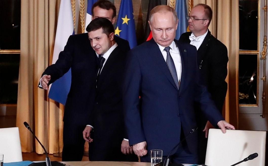 Зеленский поговорил по телефону с Путиным
