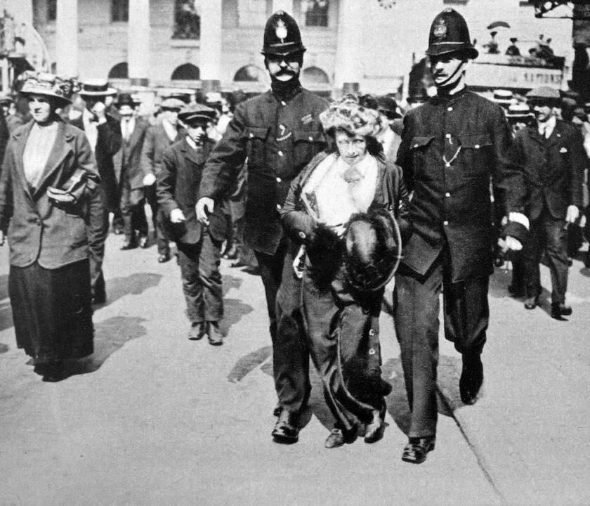 задержание женщины на 8-е марта