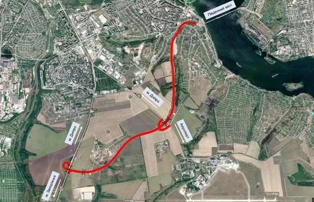 Когда в окрестностях Днепра завершат строительство второй очереди объездной дороги