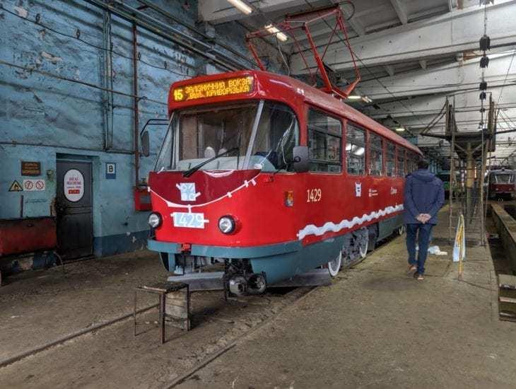 Будущий дизайн днепровских трамваев