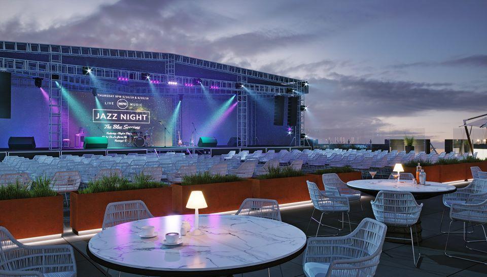 На крыше по проекту появится концертная сцена и места для зрителей.