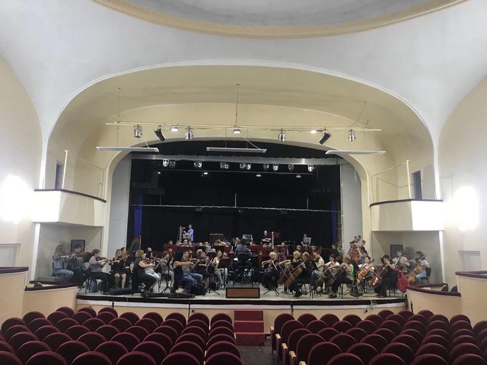 Концертный зал сейчас.