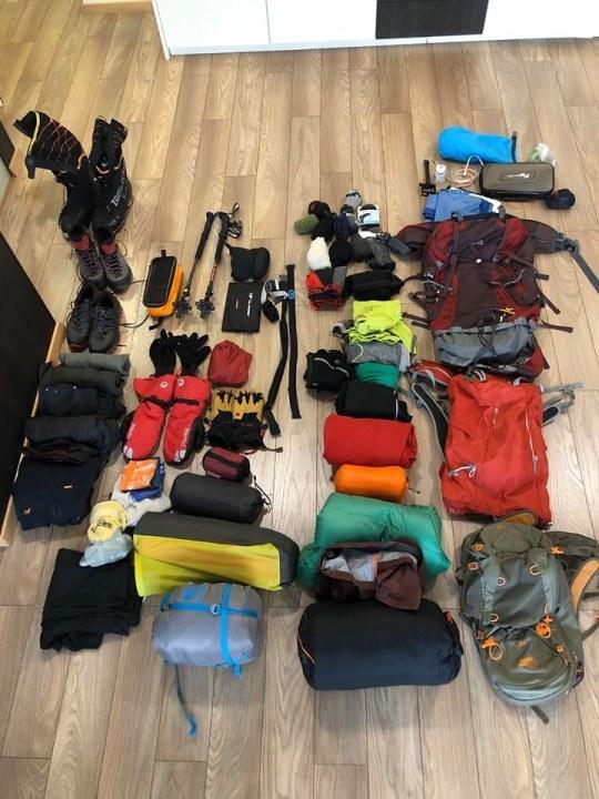 Экипировка альпиниста