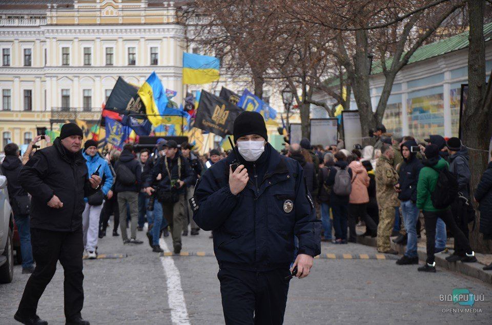 Як у Києві пройшов марш Добровольців (ФОТОРЕПОРТАЖ)