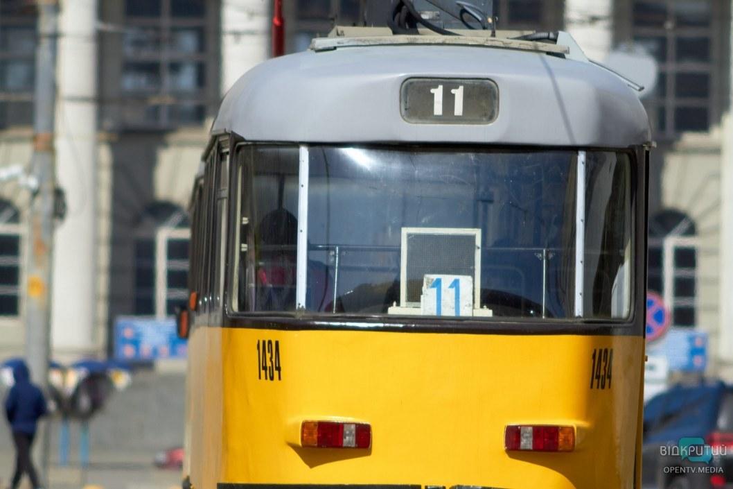Трамваи ходят по привычным маршрутам