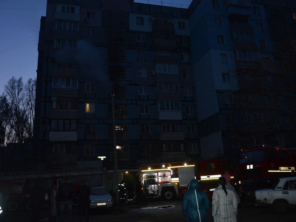 В Днепре на улице Агнии Барто горела 9-этажка (ФОТО, ВИДЕО)