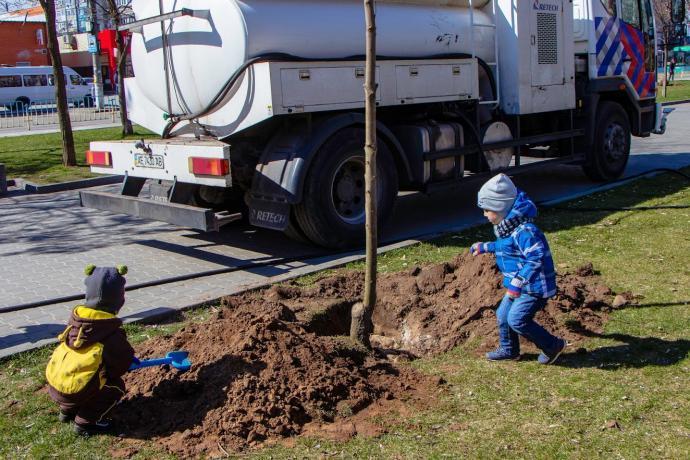 Озеленение города идет полным ходом: в Днепре планируют высадить более 3 тысяч деревьев