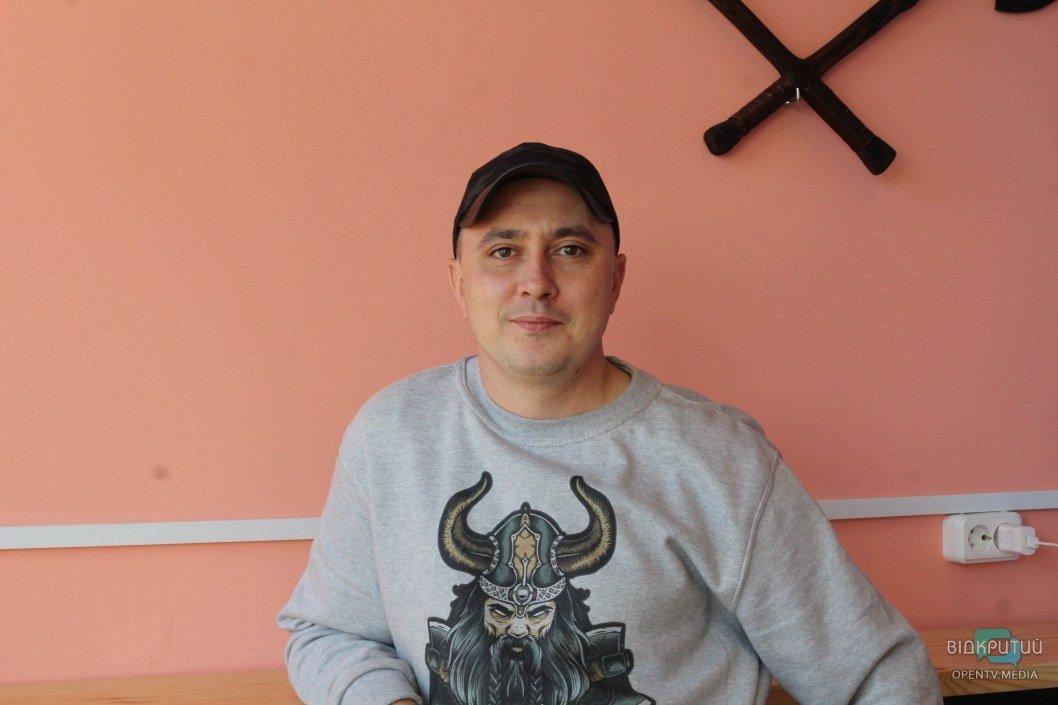 """Станислав Пасечник – владелец заведения """"KONUNG FEAST"""" в Днепре"""