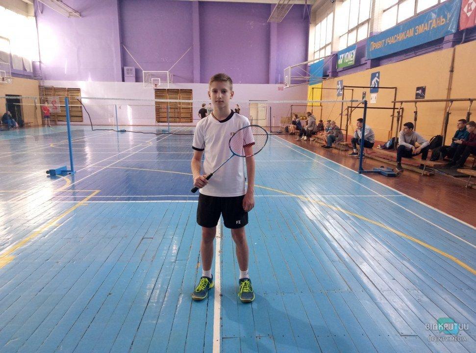 Данил Дубинский – кандидат в мастера спорта по бадминтону