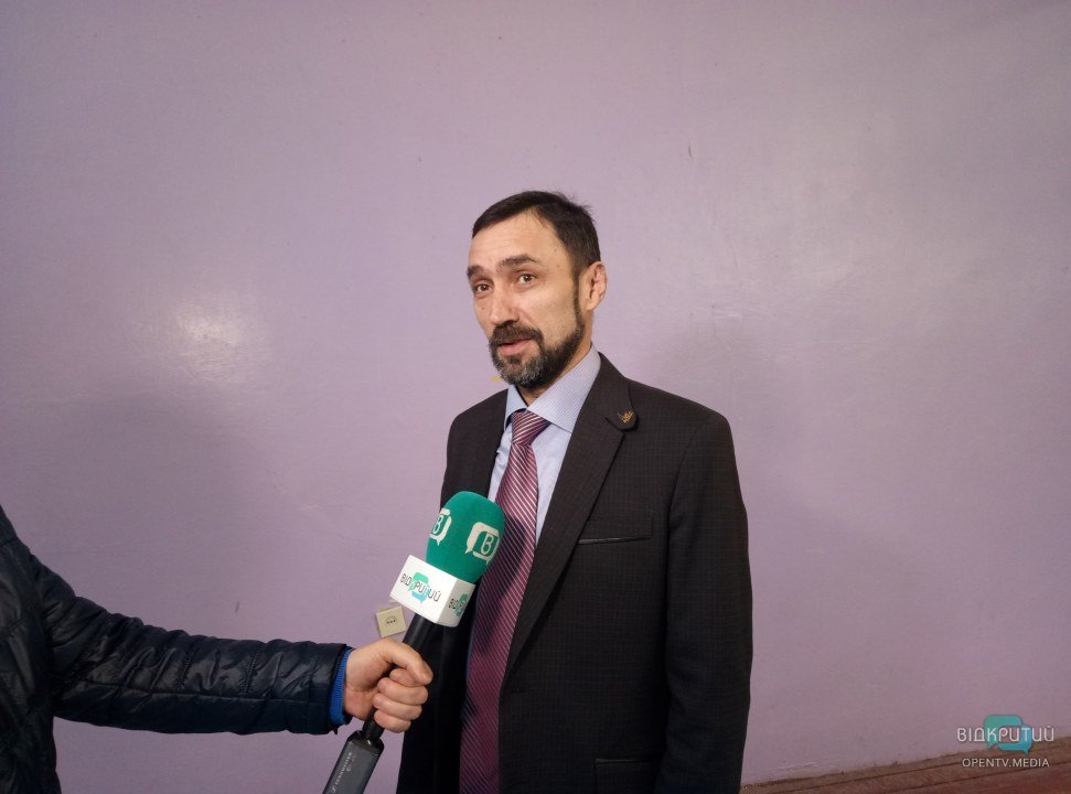 Директор Колледжа радиоэлектроники Василий Тихонов