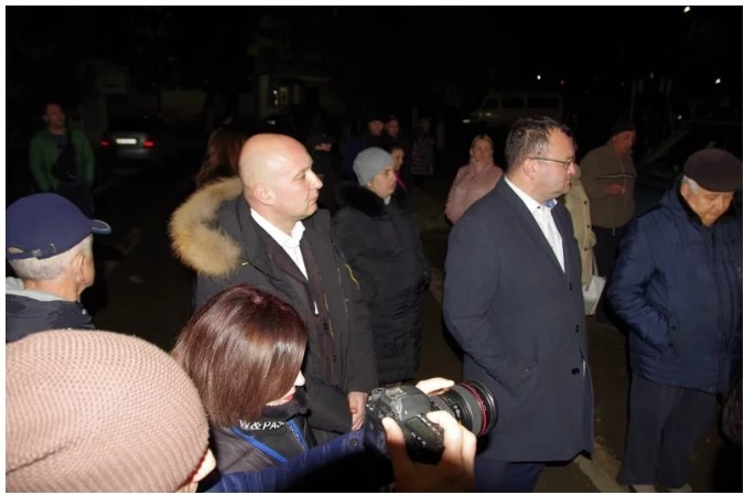 Протесты в Черновцах