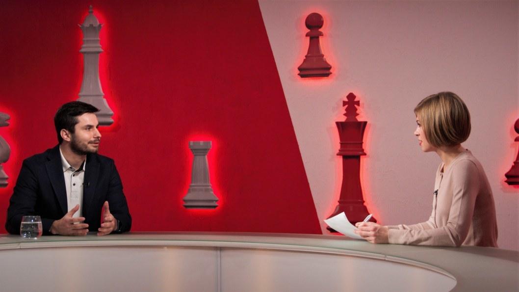 Сергій Почтовик про створення історичного онлайн-квесту у Дніпрі -  програма «Шах і мат»