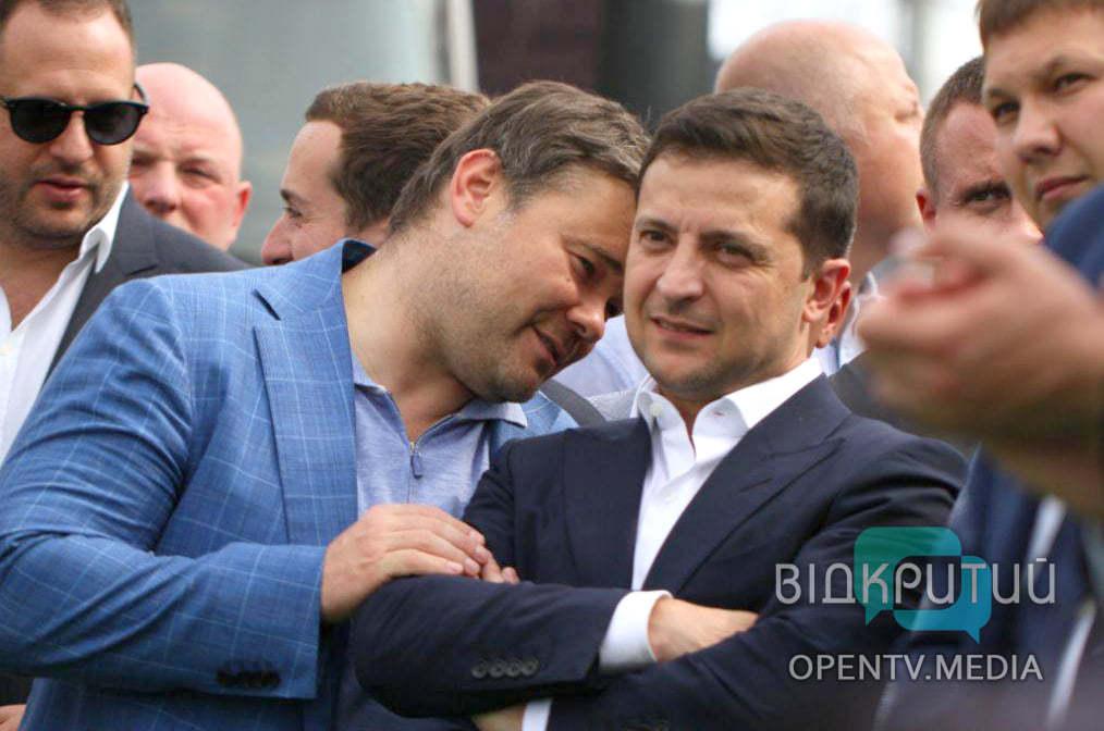 Зеленский признался, почему уволил Богдана с должности главы Офиса президента