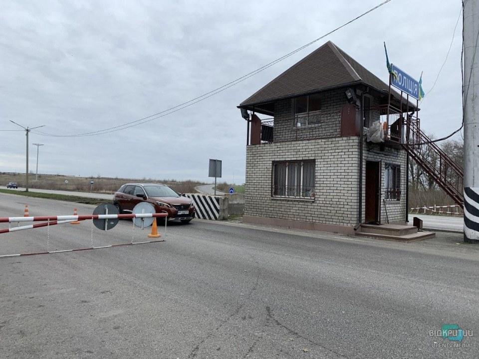 Дежурит Нацгвардия: как выглядят блокпосты на въезде в Днепр (ФОТО)