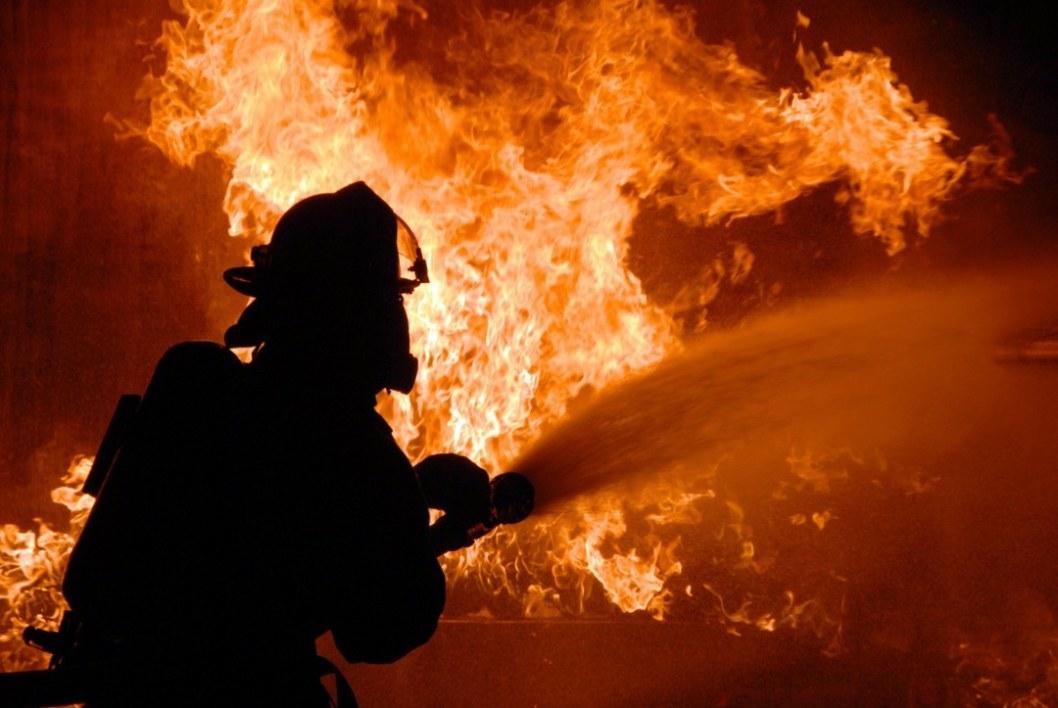 В Днепропетровской области сгорело сельхоз предприятие
