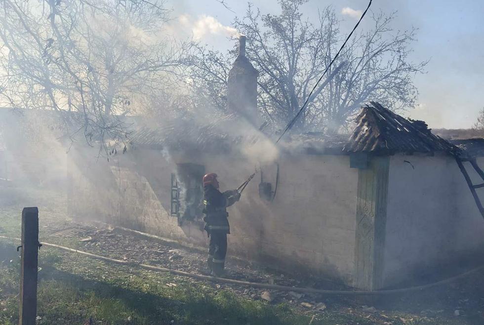 Под Днепром произошел пожар в частном доме