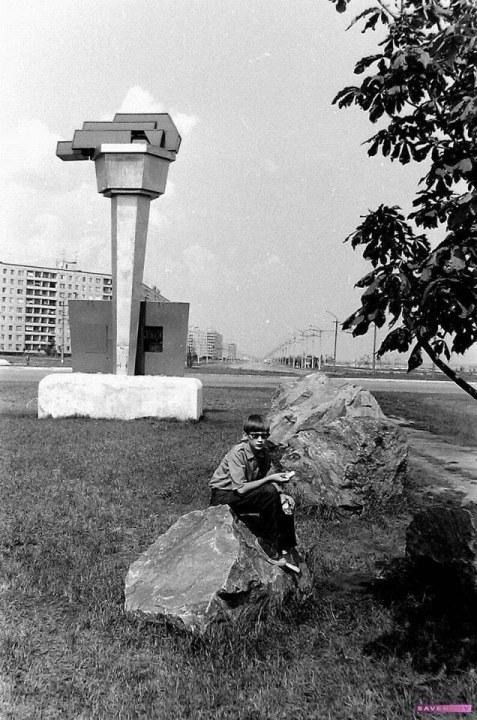 Редкое фото Победы-3: раньше на кольце стоял 4-метровый факел