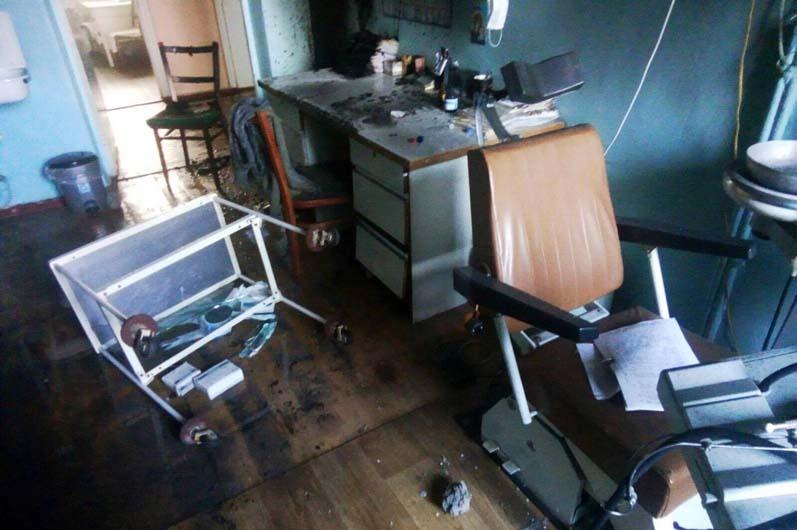 Под Днепром горел стоматологический кабинет в больнице