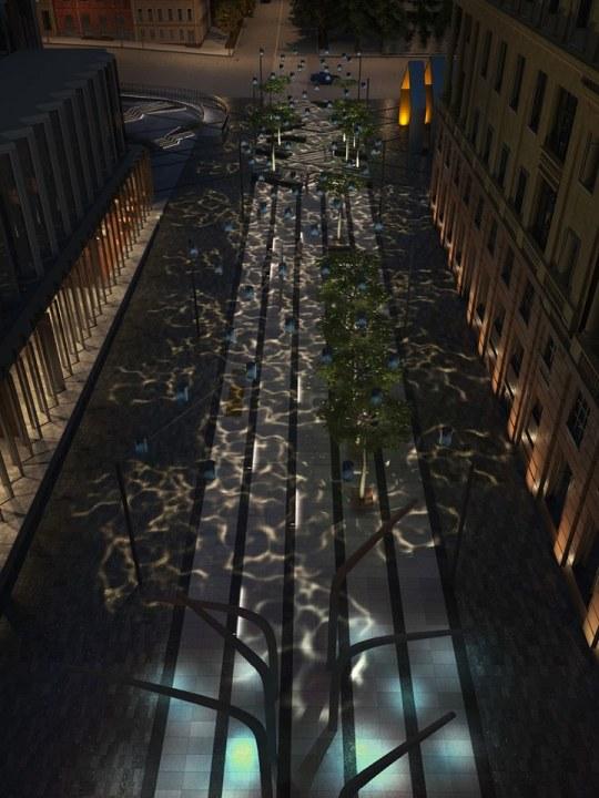 В Днепре на Короленко появится необычное освещение