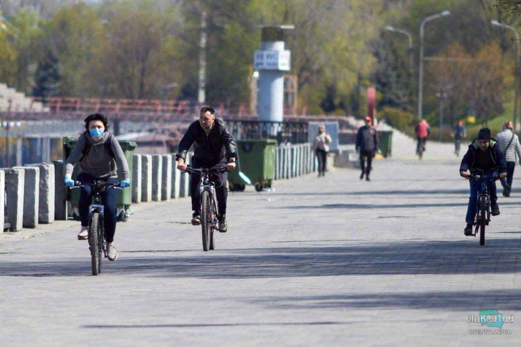Днепряне занимаются велоспортом