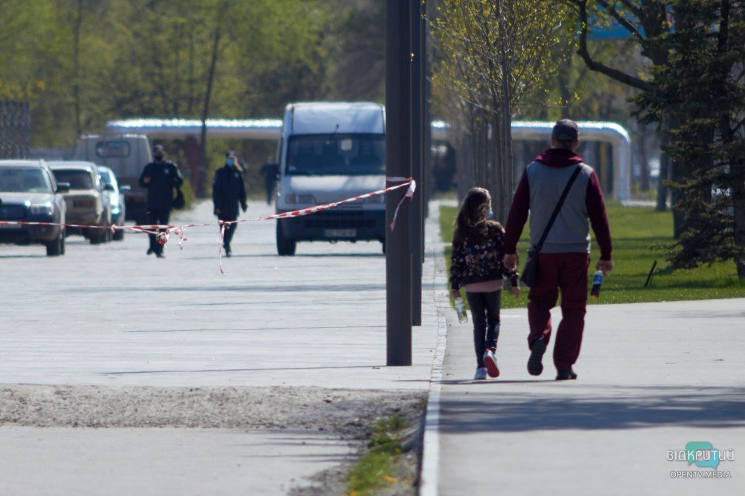 """Вход в сквер """"Прибрежный"""" запрещен с 3 апреля"""