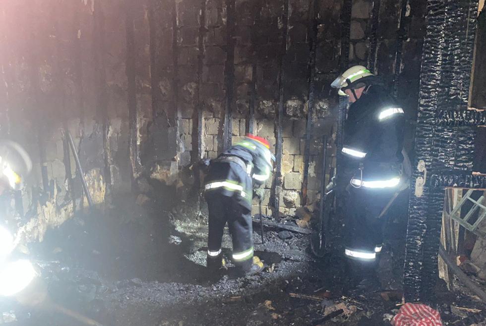 Под Днепром из-за пожара погиб 66-летний мужчина