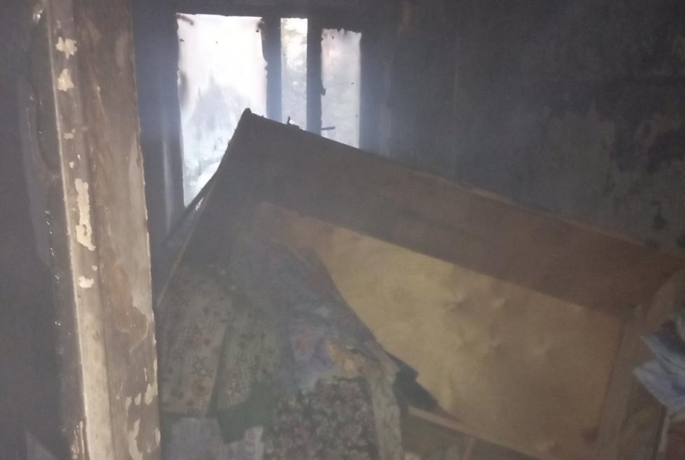 Пожар Кривой Рог Днепр спасатели