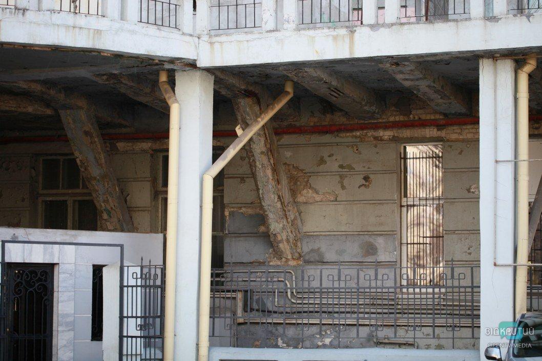 Здание нуждается в капитальном ремонте