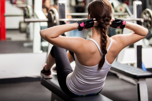 gym woman workout fitness