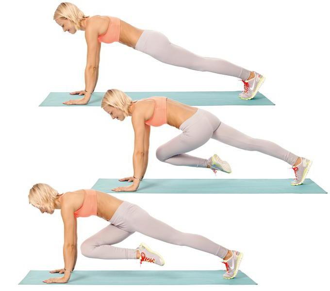 Скалолаз упражнение