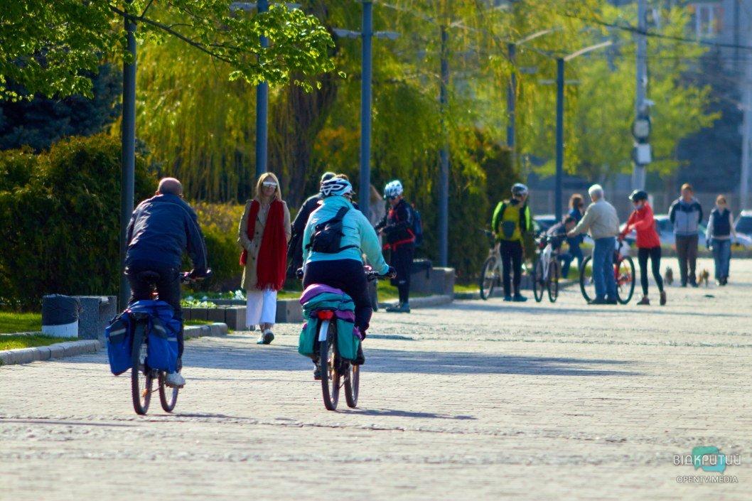 Велосипедистов стало на порядок больше