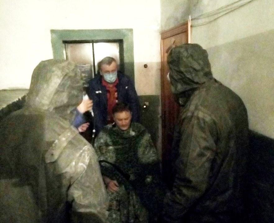 Под Днепром спасатели помогли тяжело больному мужчине