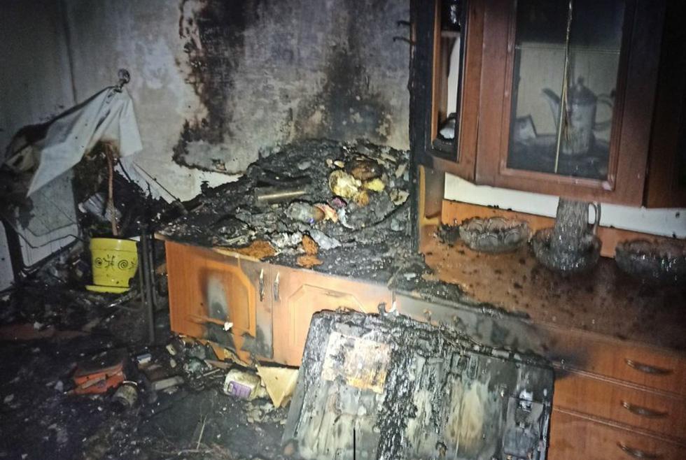 В Желтых Водах во время тушения пожара в квартире нашли тело женщины