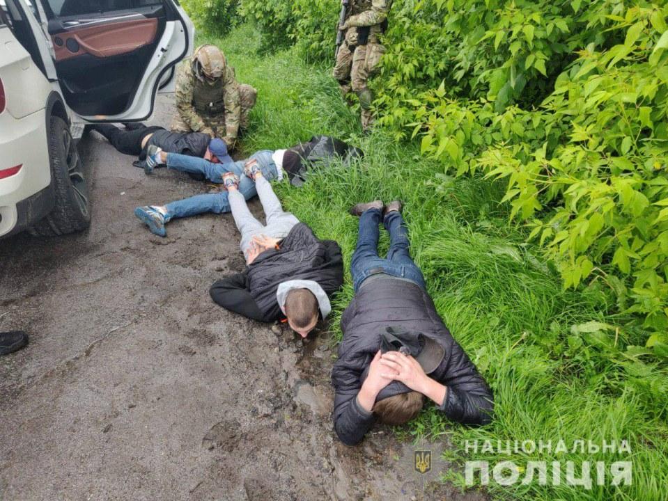 В Винницкой области задержали 5 участников перестрелки в Броварах