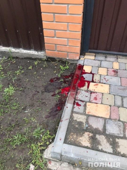 Нападение под Днепром с ножом