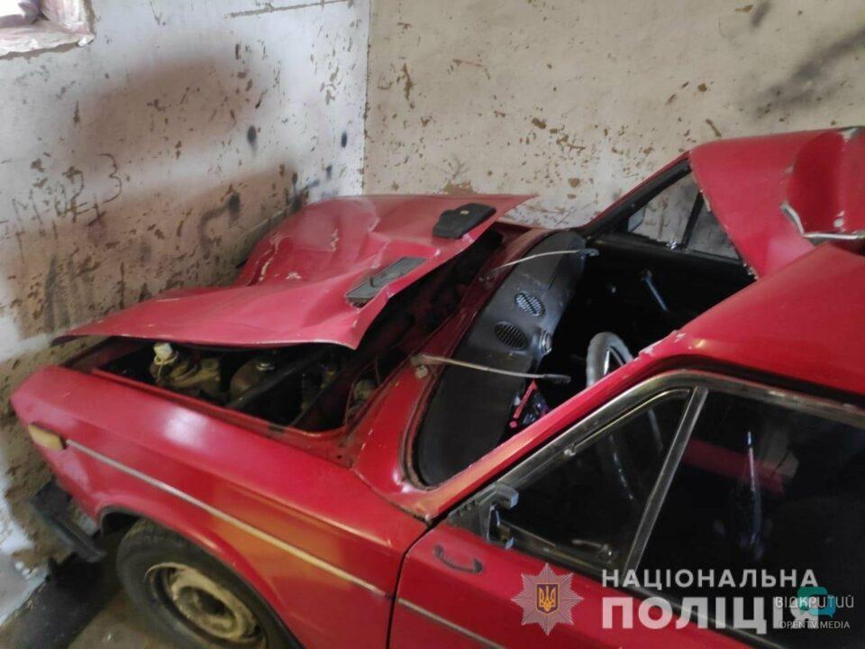 В Павлограде полицейские нашли водителя, который скрывался после смертельного ДТП