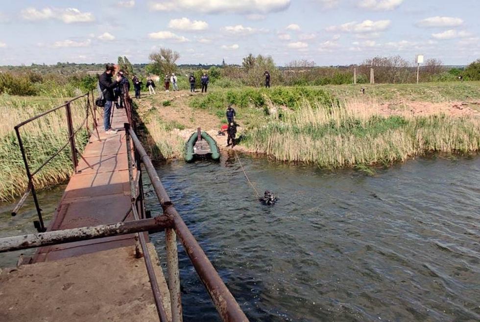 Под Днепром нашли тело 11-летнего мальчика, который утонул, прыгая с моста (ФОТО)