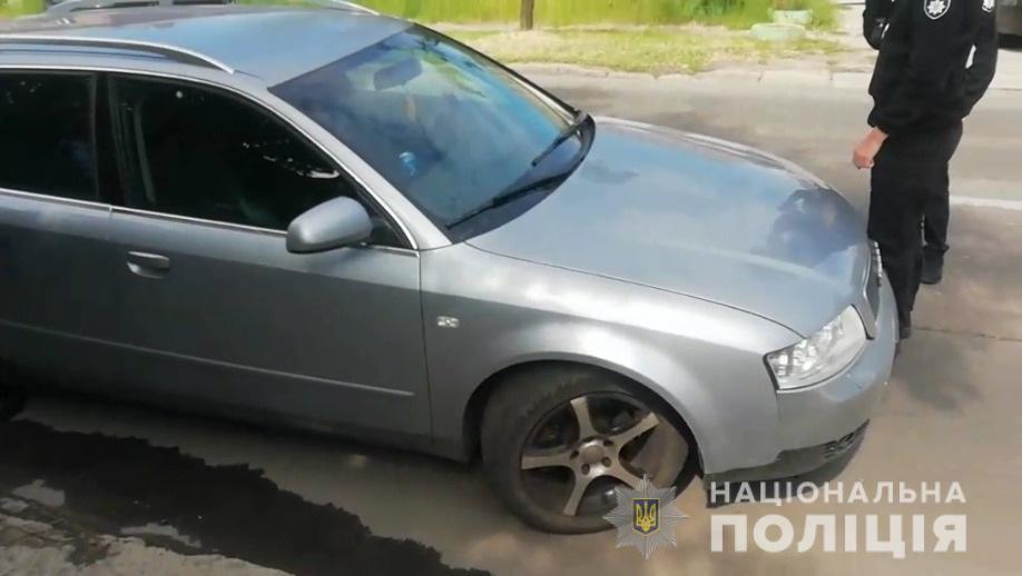 В Днепре на Короленко группа из 20-ти человек избила полицейских