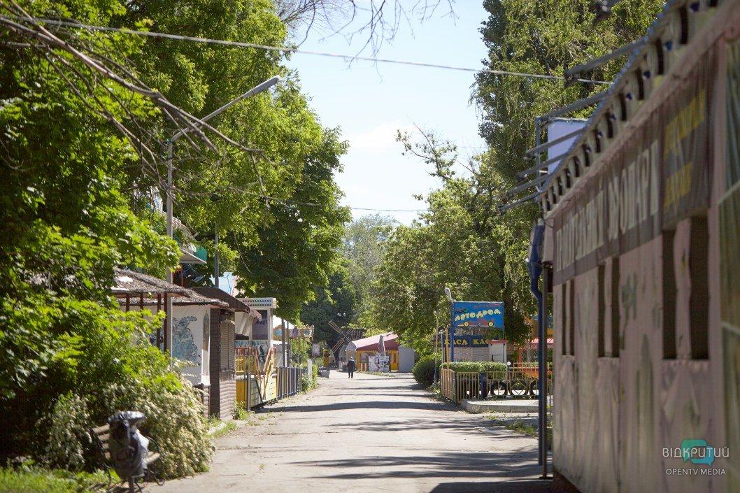 Правда ли, что в парк Глобы снова не пускают посетителей (ФОТО)