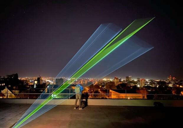 Будет видно на весь город: в Днепре пройдет лазерное шоу
