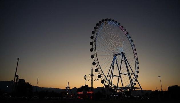 В парке Шевченко раньше было колесо обозрения (ФОТО)