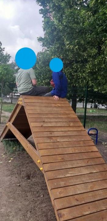 Дети на площадке для собак Днепр