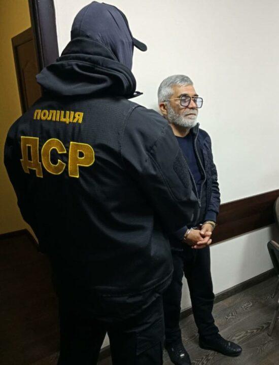 Полиция задержала авторитета