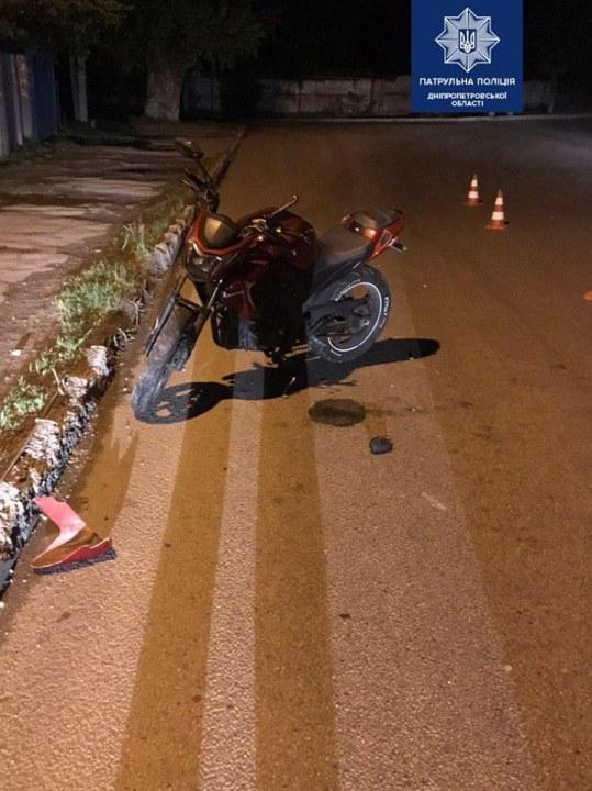 В Днепре вор угнал мотоцикл на глазах у хозяина
