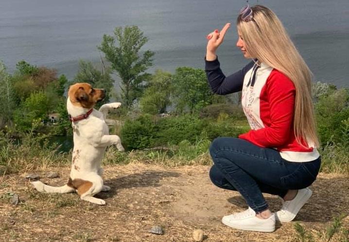 В Днепре появились собаки-экоактивисты (ВИДЕО)