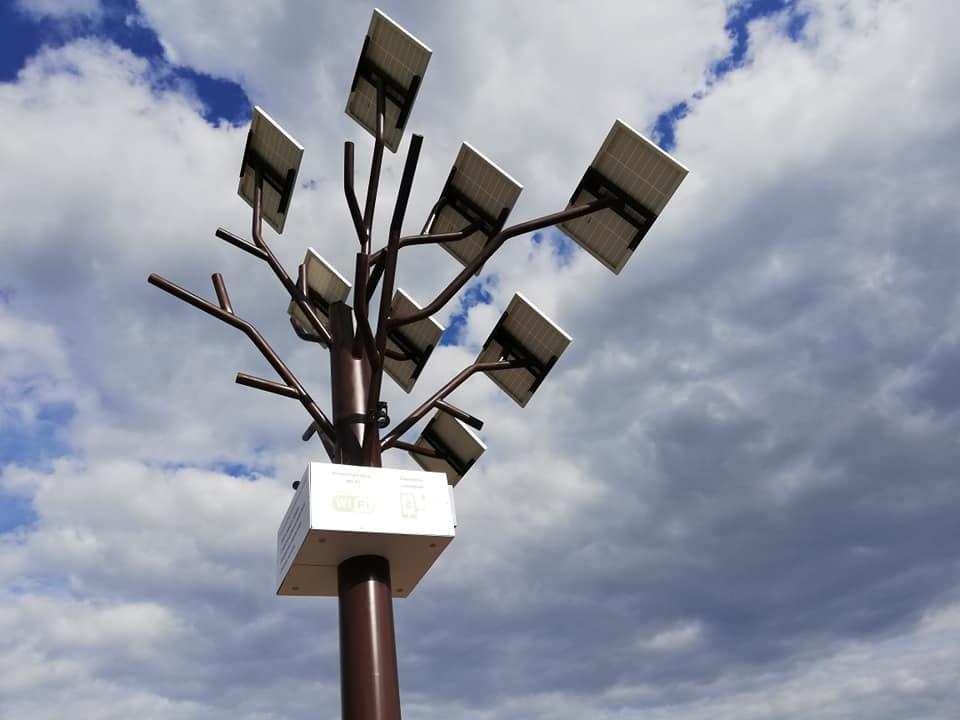 Смарт-дерево в Покровском