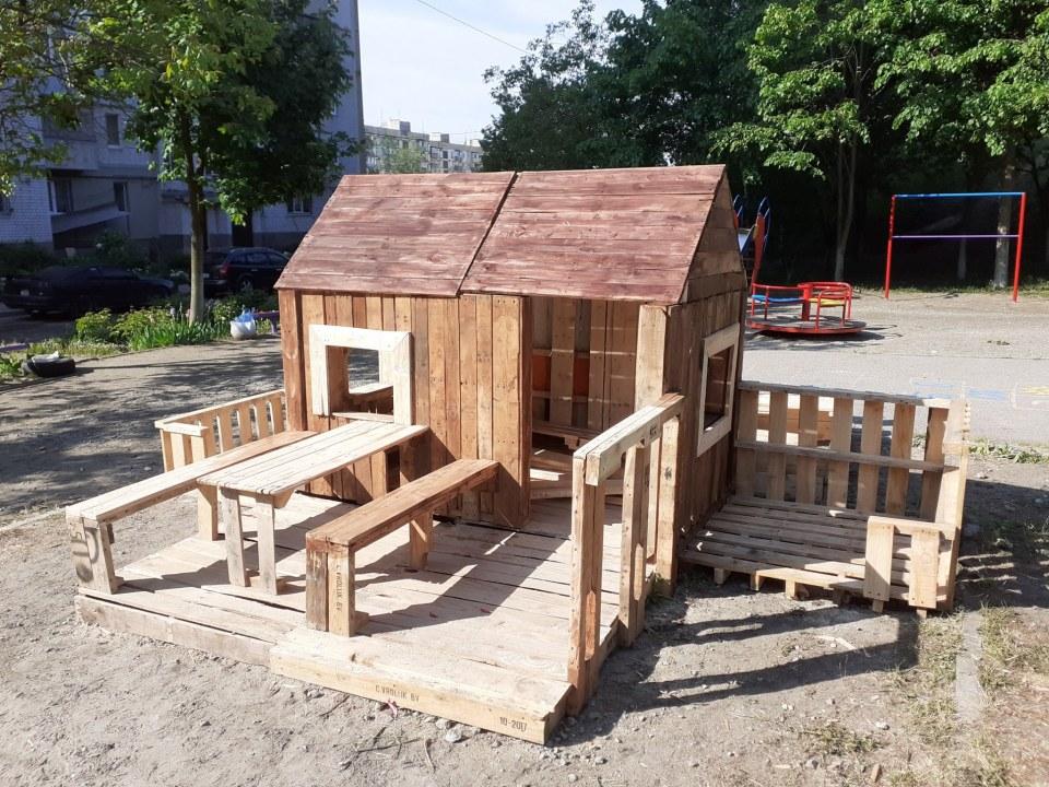 В Днепре на ж/м Кротова появится сказочный городок для детей (ФОТО)