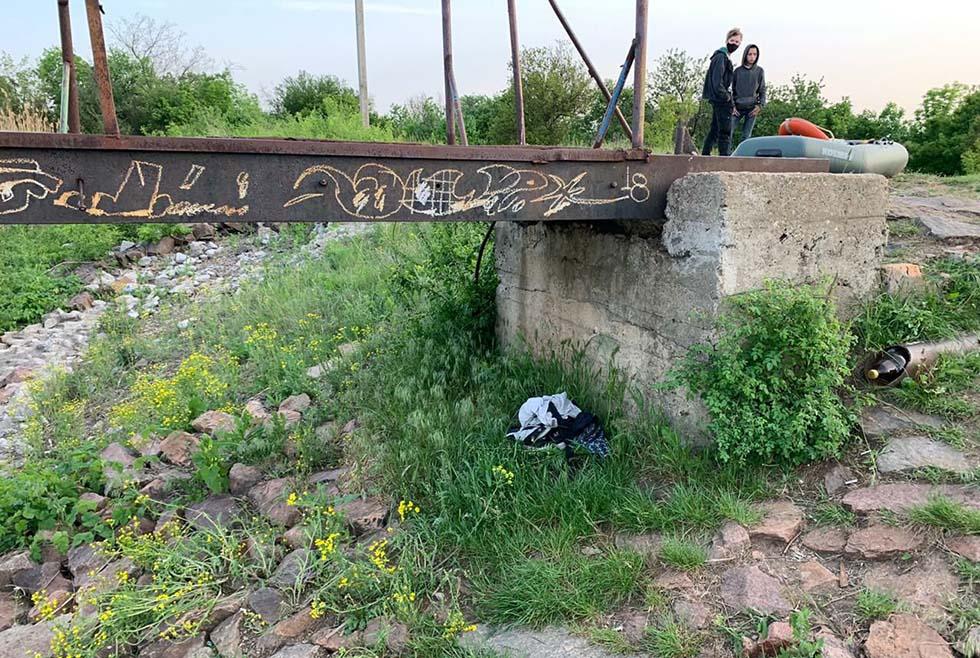 Под Днепром ребенок прыгнул с моста в воду и утонул
