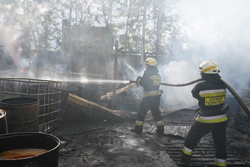 Пожар В Днепре Амур